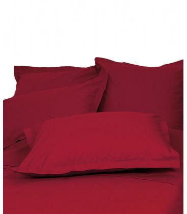 Taies d'oreiller et de traversin en Percale de Coton - 21 coloris - Vent du Sud