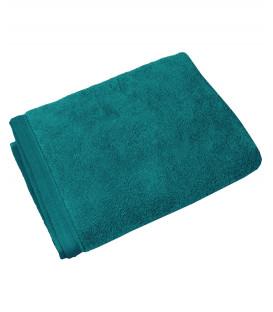Serviette éponge Gaïa 100% Coton Bio - coloris Paon - Vent du Sud