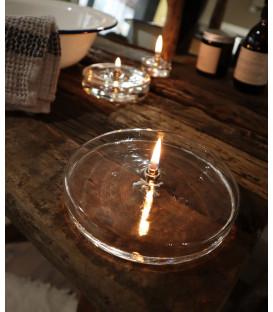Lampe à Huile décorative Ronde Plate XL
