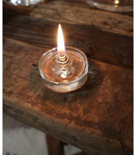 Lampe à Huile décorative Ronde Plate S