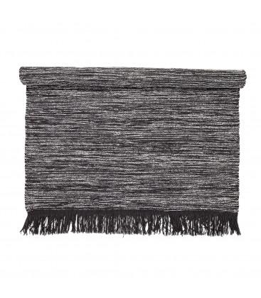Tapis gris en laine - GEOFFREY - Bloomingville