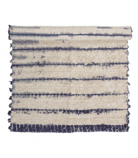 Tapis en coton Bleu -AXEL - Bloomingville