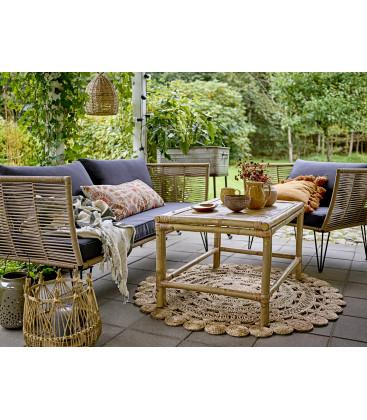 Canapé Outdoor en fils MUNDO Naturel - Bloomingville