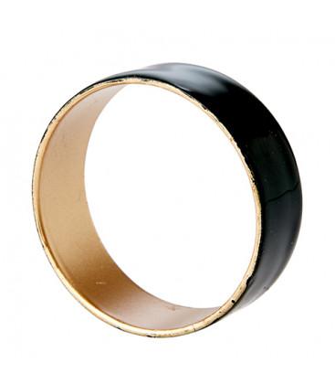 Rond de serviette métal émaillé (5 coloris) - Affari