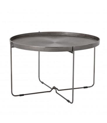 Table à café en Aluminium noir - CARLI - Bloomingville