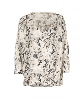 ACKERMAN Blouse manche 3/4 - Taupe