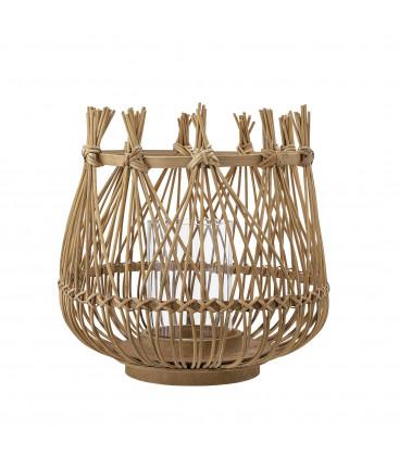 Lanterne en Bambou, Coloris Naturel ESJA - Bloomingville