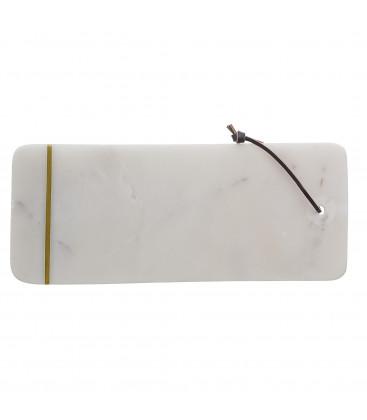 Planche à découper en marbre blanc - JOTKIRN - Bloomingville