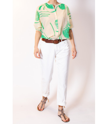 PATAYA Blouse - Grass - Hod Paris