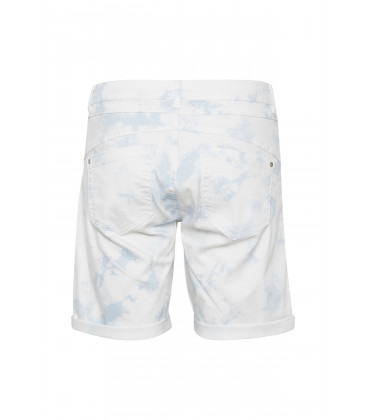 VIVIAN Twill Short - Coco Fit Baby Blue Printed