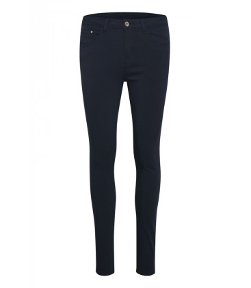 GINNA Pantalon - Shape Royal Navy Blue - Cream Clothing