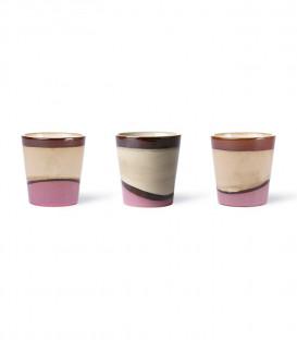 Mug céramique Dunes - HK Living