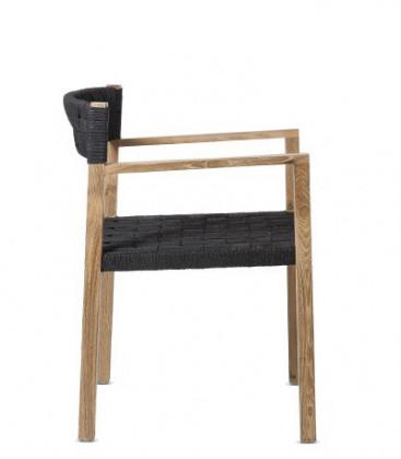 Chaise en teck CORA - Dareels