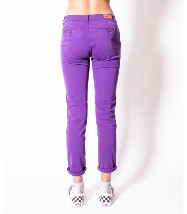 HONORE Pantalon Chino - Violette - Hod Paris
