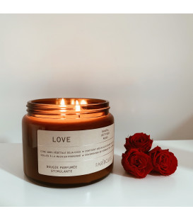 Bougie Fariboles 400g - Love