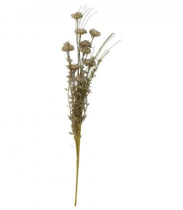 Fleurs tons gris/vert