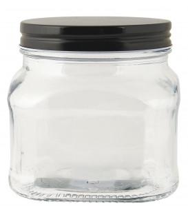 Bocal couvercle noir 450 ml