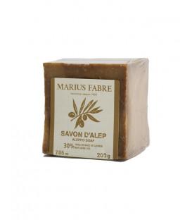 Savon d'Alep à l'huile de baies de laurier 200gr - Marius Fabre