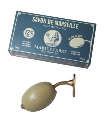 Savon de Marseille à fixer au mur - Marius Fabre