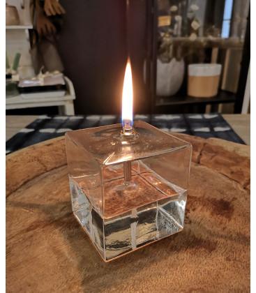 Lampe à Huile décorative Cube M