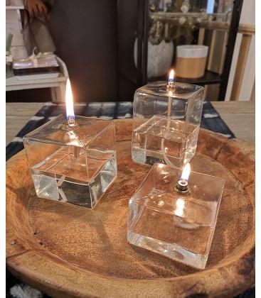 Lampe à Huile décorative Cube XL