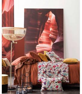 Drap plat DILI en Gaze de Coton - 7 coloris - HARMONY