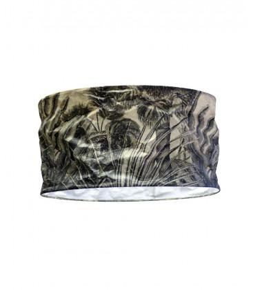 Abat-jour PALMA en Papier Recyclé - Jungle Noir et Blanc - Diam 70 - Red Cartel