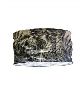 Abat-jour PALMA en Papier Recyclé - Jungle Noir et Blanc - Diam 45 - Red Cartel