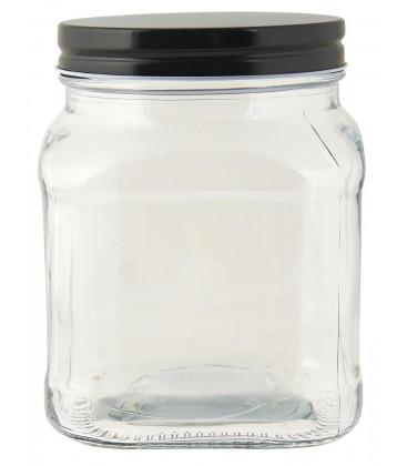 Bocal couvercle noir 700 ml