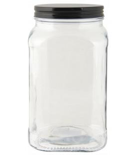 Bocal couvercle noir 1200 ml