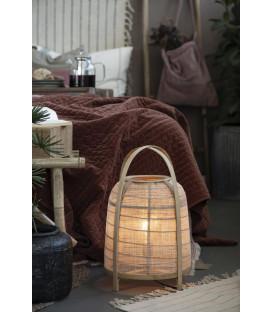 Lampe à poser en bambou et corde - Ib Laursen