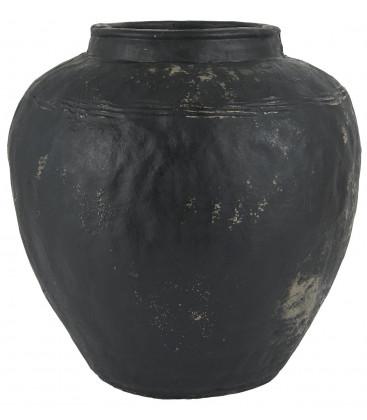 Vase César noir taille L - Ib Laursen