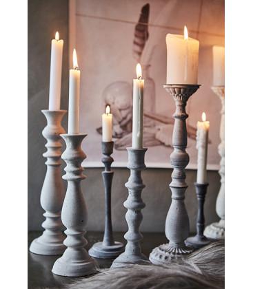 Bougies naturelles SKYLINE coloris Blanc - 3 tailles - Affari