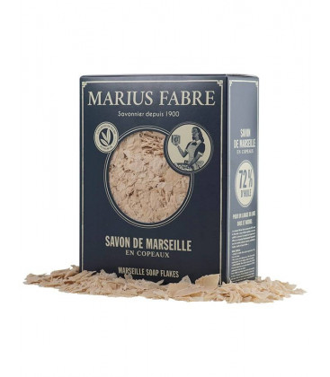 Boite de Copeaux de Savon de Marseille 750 gr sans huile de Palme - Marius Fabre