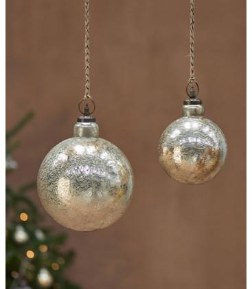 Boule de Noël OMETTI - OR vieilli - Grand format