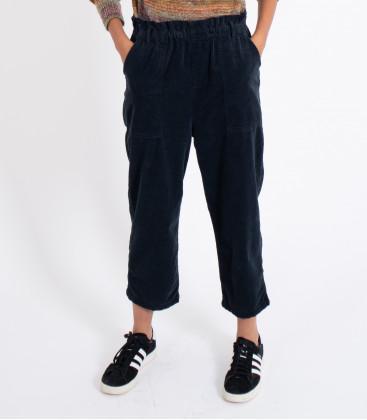 Pantalon Yael velours Carbone