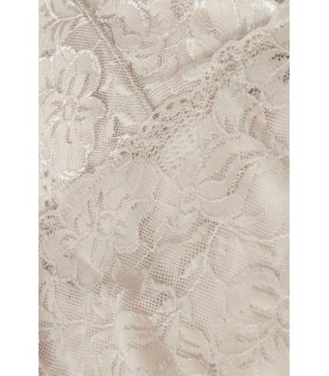 GLAZE Brassière en dentelle - Feather grey