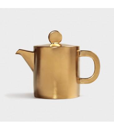 Théière porcelaine Gold - Klevering