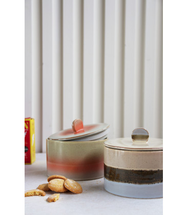Pot à biscuits ceramics 70's col. Venus - HK Living
