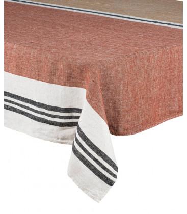 Serviettes de table Lin Lavé TREVISE - 4 coloris - Set de 12 pièces - Harmony