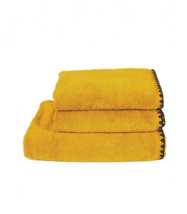 Serviette Éponge ISSEY couleur Safran - Harmony