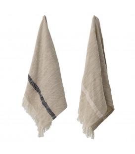 Jacen Jacen Kitchen Towel, Nature, Cotton - Bloomingville