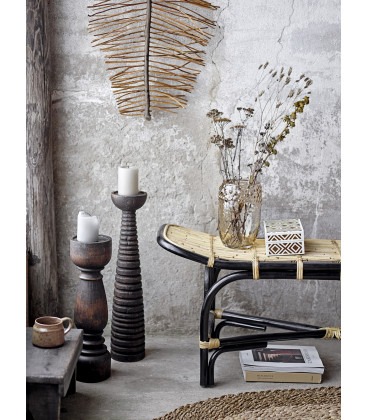 Thore Thore Pedestal, Brown, Mango - Bloomingville