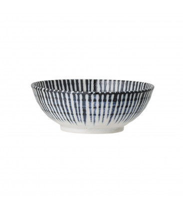 Camellia Camellia Bowl, Blue, Porcelain - Bloomingville