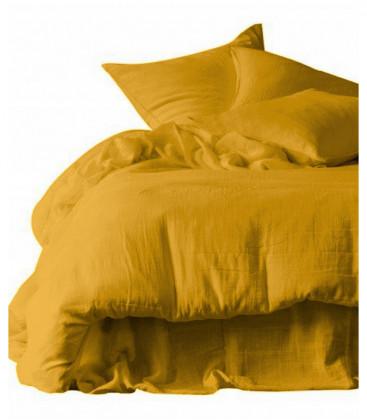 Drap Housse DILI en Gaz de Coton - 7 coloris - HARMONY