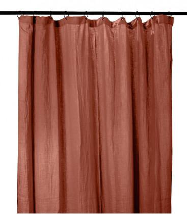 Rideaux DILI en Gaz de Coton - 7 coloris - HARMONY