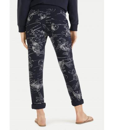Pantalon loose Kois - Navy