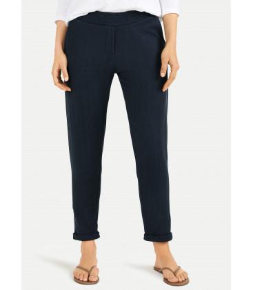 Pantalon chino chevron - Navy