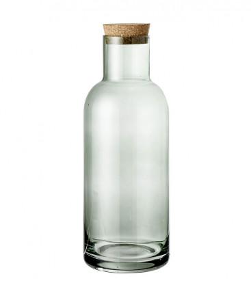 Ragna Bottle avec couvercle, Vert, Verre RAGNA - Bloomingville