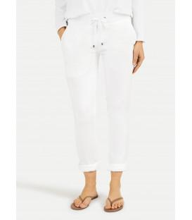Pantalon loose - White